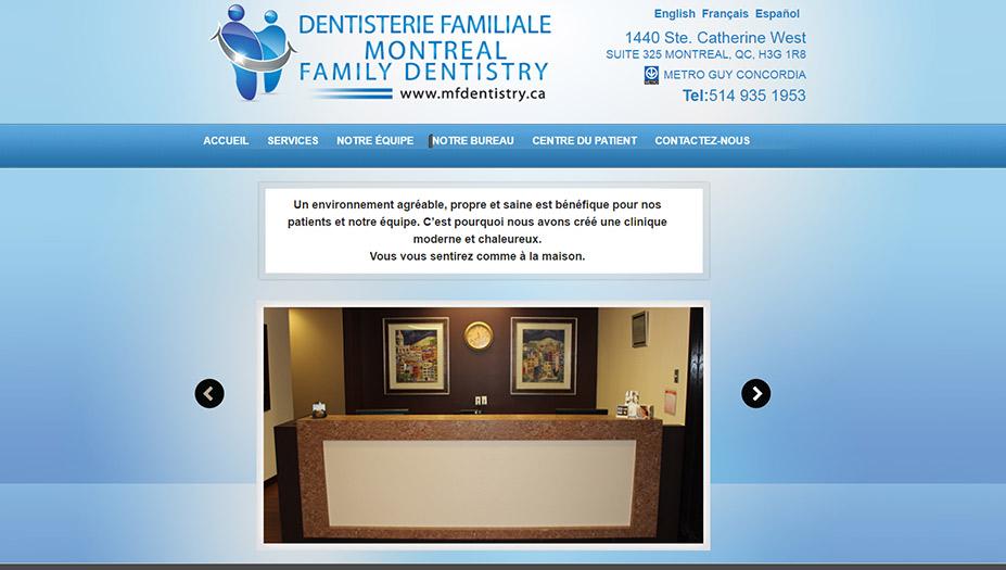 Family dentistry of montreal devtaktik