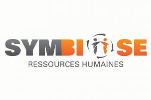 logo corporatif ressource humaine symbiose