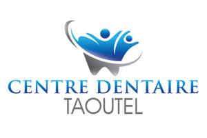 logo corporatif dentiste dr chadi taoutel