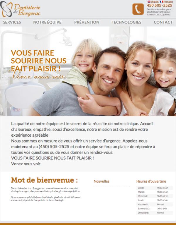 Dentisterie du Bergerac accueil
