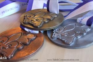 Médaille Boxe Québec 1