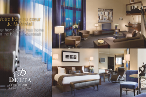 hotel delta centre ville +