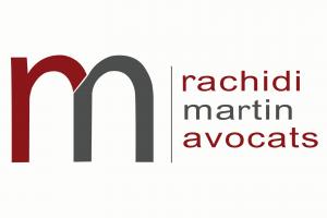 logo corporatif avocat legal rachidi martin