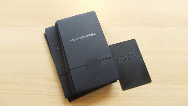 materiel promotionnel marketing cartes metal luxury retreats1