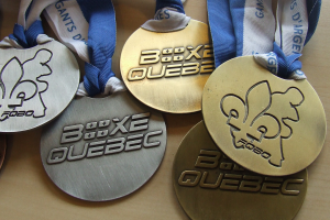 medailles sport marketing boxe quebec