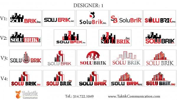 Solubrik Logo – Portfolio d1a