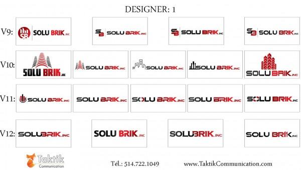 Solubrik Logo – Portfolio d1c