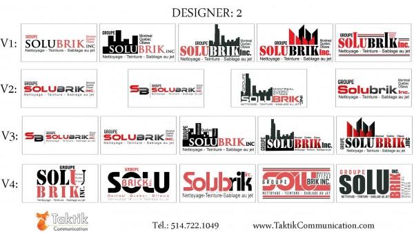 Solubrik Logo – Portfolio d2a