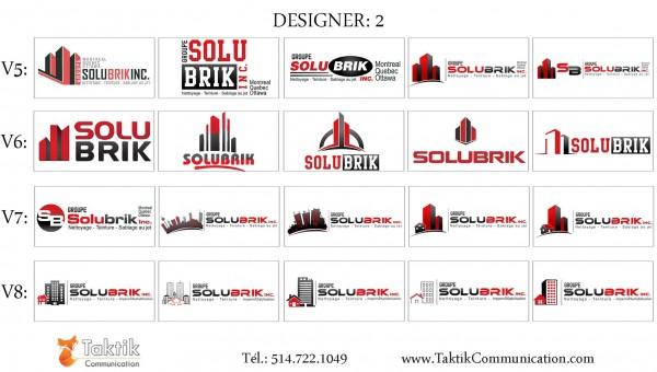 Solubrik Logo – Portfolio d2b