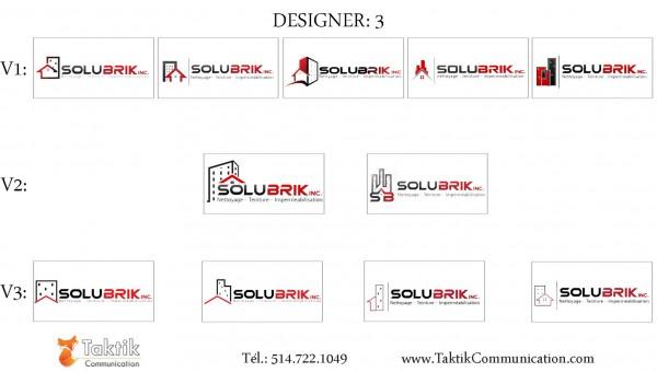 Solubrik Logo – Portfolio d3a