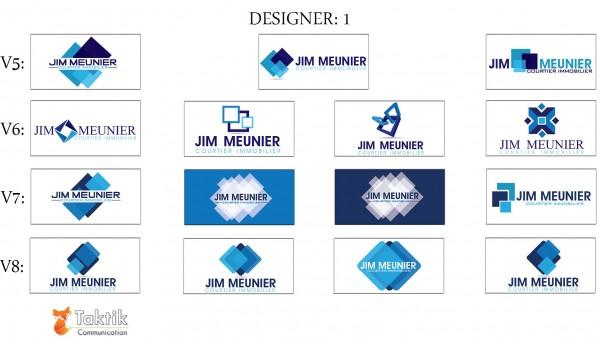 Jim Meunier Logo – MaquettesD1-P2