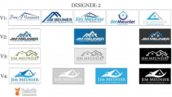 Jim Meunier Logo – MaquettesD2-P1