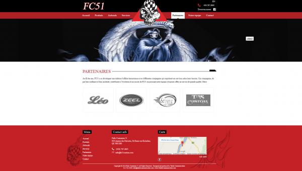 Site FC 51 partenaire