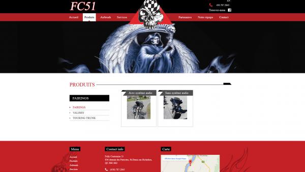 Site FC 51 produit