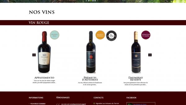 Fichier source PORTFOLIO Site Artisans du terroir  vins