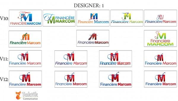 Marcom Logo – Maquettes D1 P4