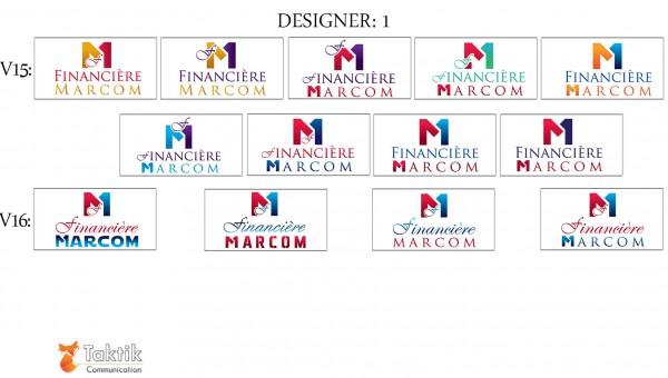 Marcom Logo – Maquettes D1 P6