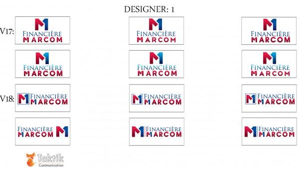 Marcom Logo – Maquettes D1 P7