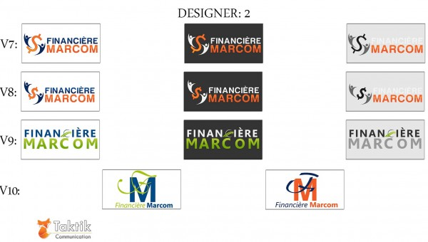Marcom Logo – Maquettes D2 P3